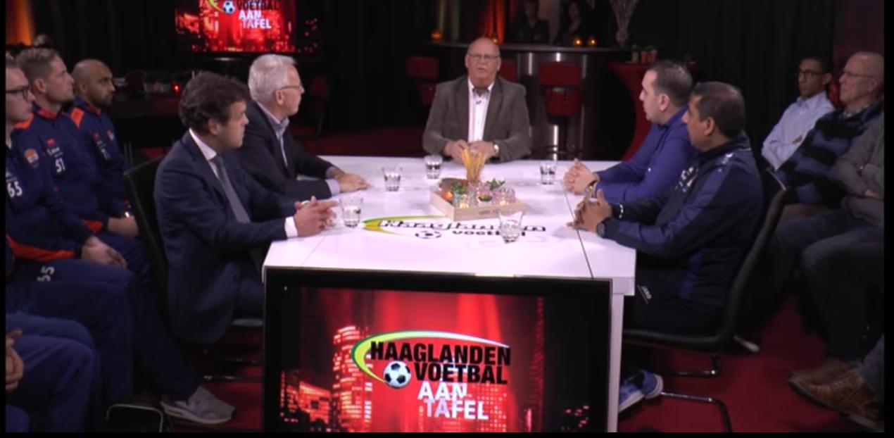 Haaglanden voetbal uitzending foto